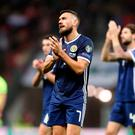 Scotland's Robert Snodgrass. Steven Paston/PA Wire