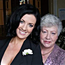 Columnist Deirdre Reynolds with her mother