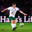 Ireland captain Seamus Coleman is pictured in action during the Euro 2020 qualifier defeat to Switzerland in Geneva