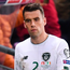 Early bath: Ireland skipper Seamus Coleman leaves the pitch in Geneva on Tuesday night after being dismissed. Photo: Sportsfile