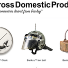 Some of the items on Banksy's Gross Domestic Product website (Gross Domestic Product/PA)