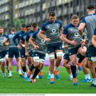 Ireland players during squad training in Arcs Urayasu Park in Urayasu, Aichi, Japan