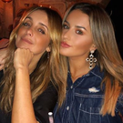Louise Redknapp and Amber Davies. PIC: Amber Davies/Instagram