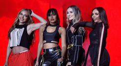 Little Mix will turn mentors in the new talent show to create new bands (David Parry/PA)