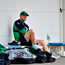 Joe Schmidt gets ready before Ireland training in Arcs Urayasu Park in Aichi. Photo: Sportsfile