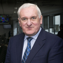 Agreement architect: Bertie Ahern during a visit to the podcast studio. Photo: David Conachy