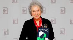 Margaret Atwood, joint winner of the Man Booker prize and creator of 'The Handmaid's Tale'