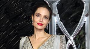 Angelina at premiere of Maleficent: Mistress of Evil