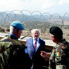 8-10-19…. Visit to Lebanon by President Higgins and his wife Sabina from the 16h to 19th October Pic Maxwell's - No Repro Fee
