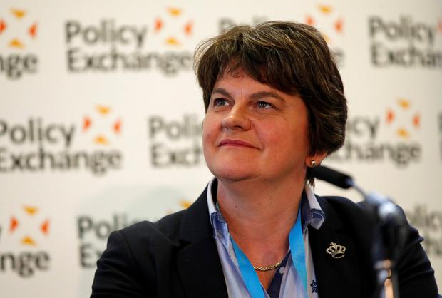 DUP leader Arlene Foster. Photo: Phil Noble/Reuters