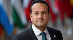 Standing firm: Leo Varadkar said Budget changes would have to wait. Picture: Reuters
