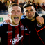 Bohemians' Daniel Grant and Danny Mandroiu celebrate. Photo: Sportsfile
