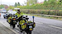 National Slow Down Day; Gardaí & GoSafe checked the speed of 205,135 vehicles with 286 vehicles detected travelling in excess of the speed limit. Photo: An Garda Síochána Twitter