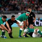 Ireland's Cian Healy in action
