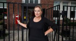 Campaign: Eilish Meagher, the principal of St Audoen's National School in Dublin city centre, is hoping to stop a drug injecting room being opened near the school. Photo: Mark Condren