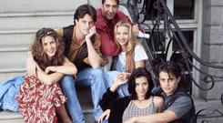 YESTERDAY ONCE MORE: the cast of Friends in 1994