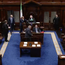 1. Clare TD Timmy Dooley walks into the Dáil Chamber