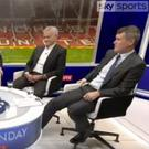 Roy Keane in the Sky Sports studio