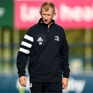 Leinster head coach Leo Cullen during a Leinster Rugby Squad Training session at Energia Park in Donnybrook, Dublin. Photo by Harry Murphy/Sportsfile