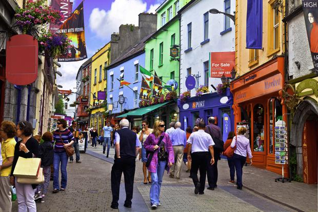 World-class: Galway has been given a major accolade by travel guide 'Lonely Planet'
