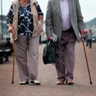 One in two pensioners are not getting enough exercise. Stock photo: Getty