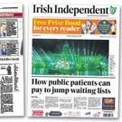 In the spotlight: Some of the coverage which has put the 'Irish Independent' in the frame for awards