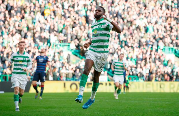 LETHAL: Odsonne Edouard. Pic: PA Wire