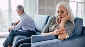 Newly retired couples reporting the lowest marital satisfaction in their marriages. This has given rise to the 'grey divorce', where divorce among couples over 50 is at its highest on record.