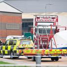39 bodies were found inside a lorry container on the industrial estate Photo credit: Stefan Rousseau/PA Wire