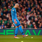 Muscle problem: Darren Randolph. Photo: Harry Murphy/Sportsfile