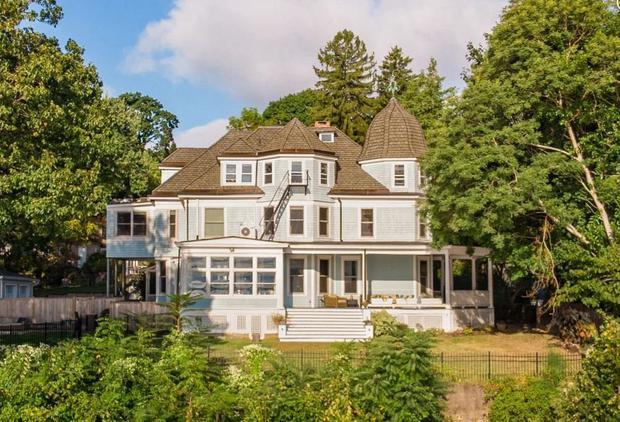 Spooky precedent: 1 LaVeta Place in Nyack, New York, the first home in the world deemed to be legally 'haunted', is now for sale seeking US$1.9m.