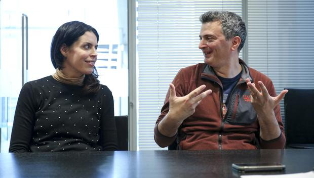 Pioneers: Dr Martin Pule and Dr Claire Roddie of UCL Cancer Institute in London. Photo by Gerry McManus