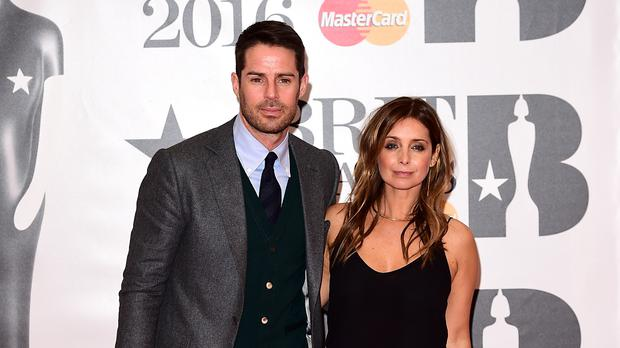 Jamie Redknapp and Louise Redknapp (Ian West/PA)