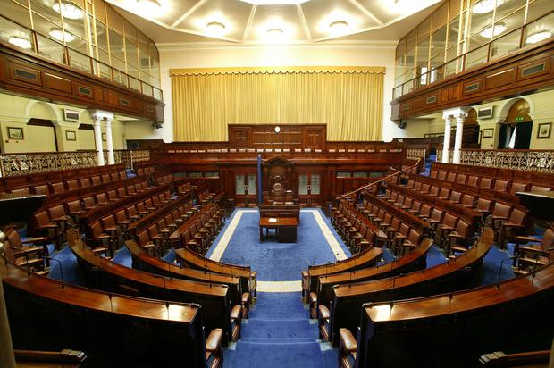 Place to be: There is a constitutional requirement for TDs to be in the Dáil for voting. Photo: Tony Gavin
