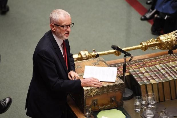'EU ambassadors have postponed a decision on an extension, seemingly to put pressure on Labour leader Jeremy Corbyn to back an election.' Photo: Reuters