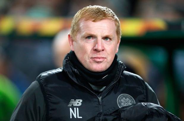 Neil Lennon, Manager of Celtic. Photo by Ian MacNicol/Getty Images