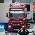 The container lorry where 39 people were found dead