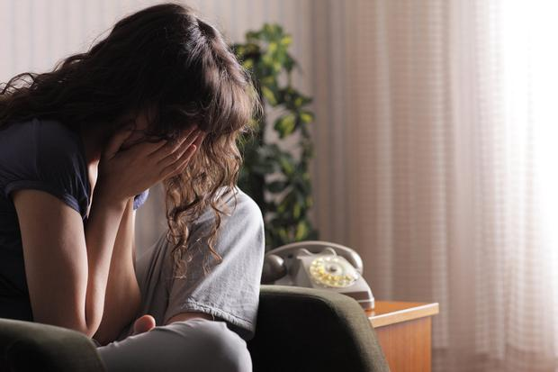 Stress and isolation left more than half suffering from mental health issues. Stock Image