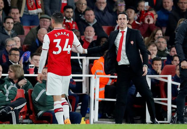 Granit Xhaka loses Arsenal captaincy to Pierre-Emerick Aubameyang after Emirates outburst
