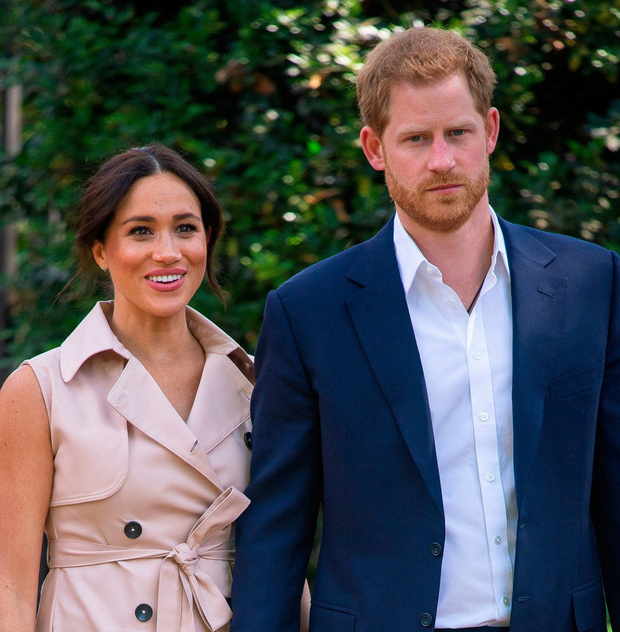 Prince Harry and his wife Meghan Markle. Photo: PA