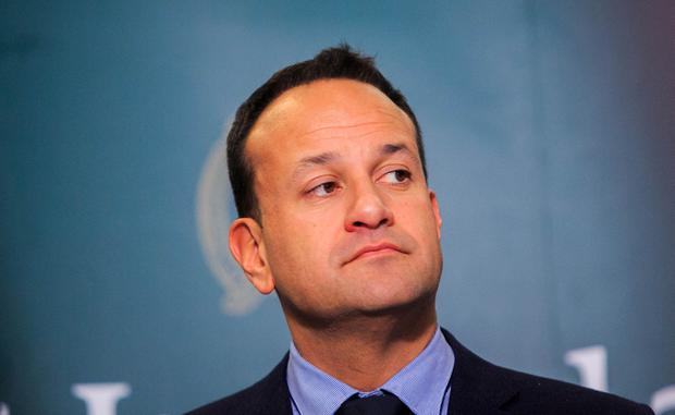 'Come forward': Leo Varadkar called for information on attack on TD's car. Photo: Gareth Chaney, Collins