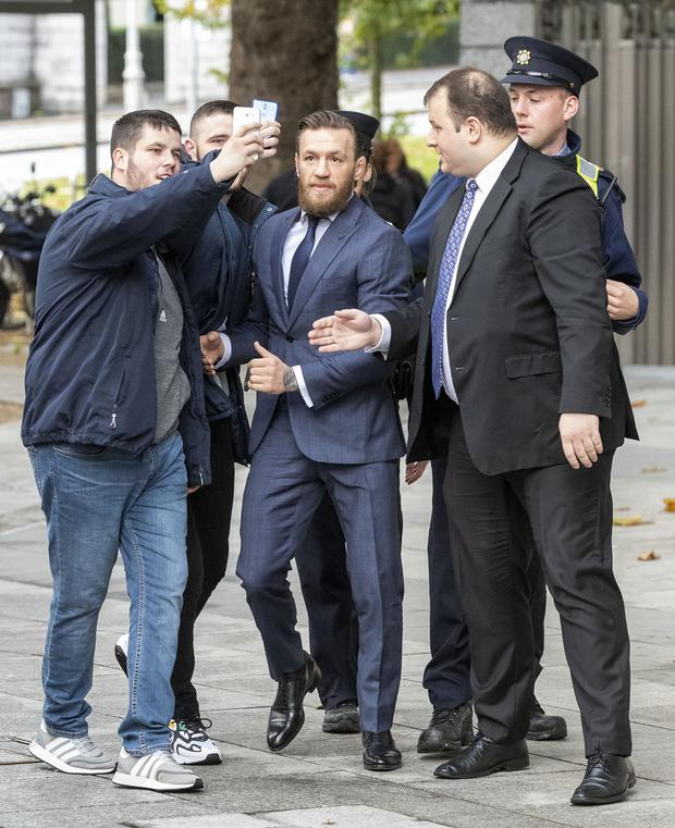 Conor McGregor Pleads Guilty to Assault, Receives Fine and No Jail Time