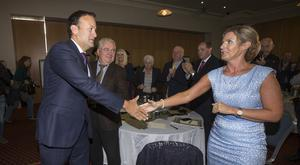 Changing times: Taoiseach Leo Varadkar and Deputy Maria Bailey pictured in 2017. Picture: Mark Condren