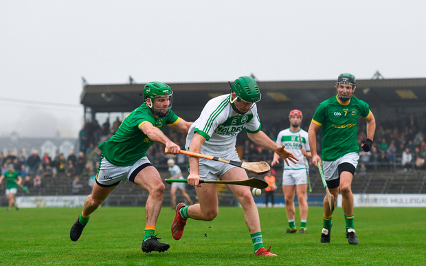 Ballyhale's Eoin Cody in action against Paddy Dowdall of Clonkill. Photo: Ramsey Cardy/Sportsfile