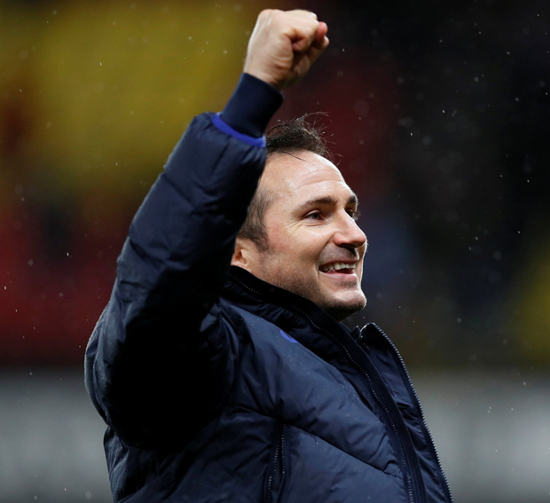 Chelsea manager Frank Lampard. Photo: REUTERS/David Klein