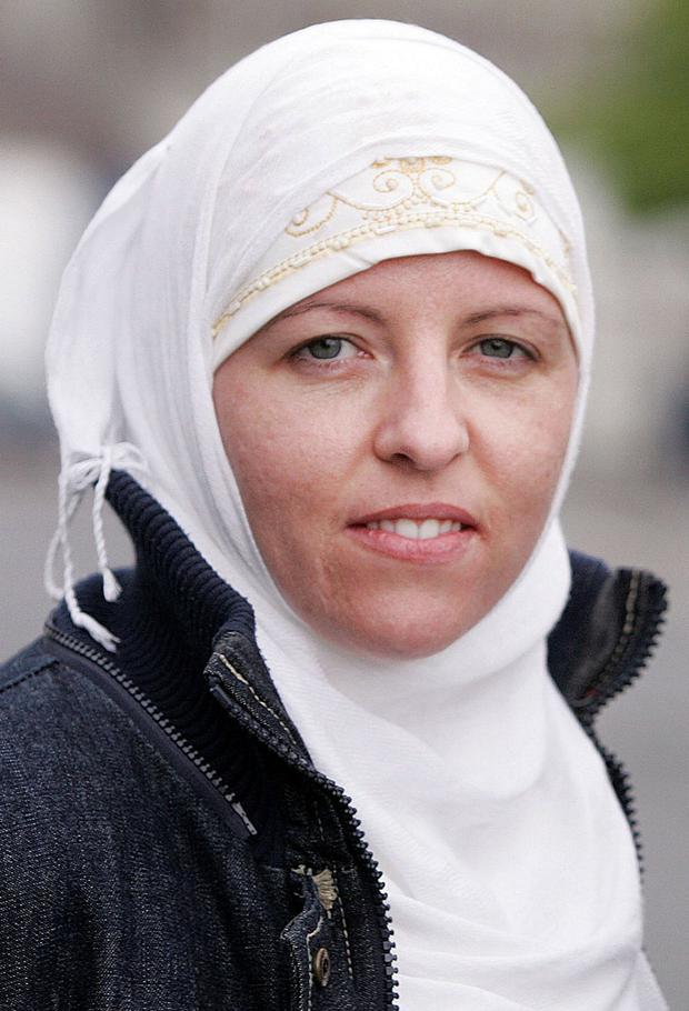 Safe house: Lisa Smith is being held on the Turkish/Syrian border. Photo: Tom Conachy