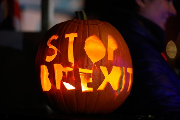 More than a third of firms across the island of Ireland say Brexit is already having an adverse impact. Photo: Rick Findler/PA Wire