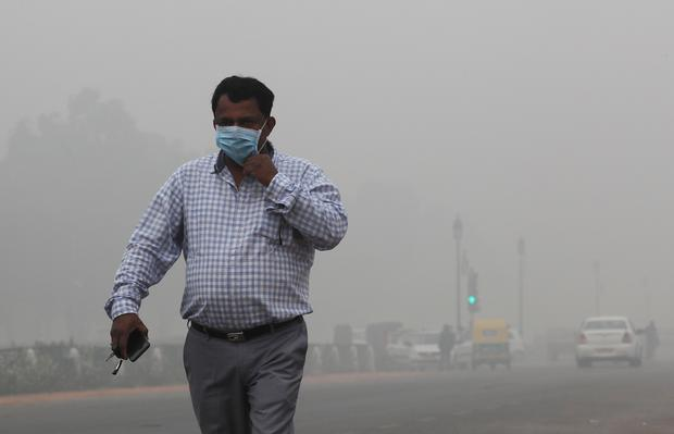 Delhi's Air Quality Remains In