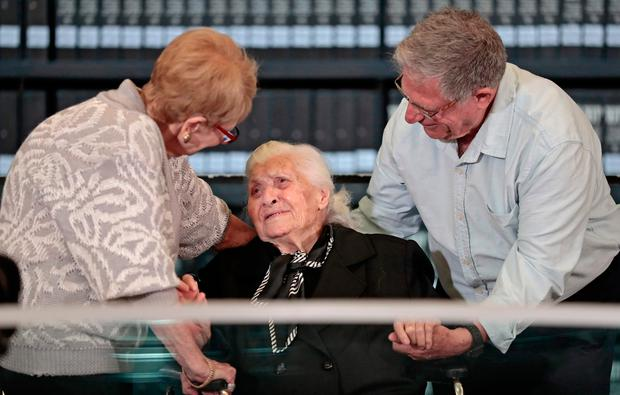 Family saved from Holocaust meet their saviour 75 years later