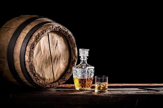 'Some 9pc of those goods have legally defined 'geographical indications', including Irish whiskey and cream liqueur labels.' Stock picture